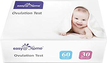 Easy@Home 60 Ovulation Tests and 30 Pregnancy Test Strips Kit
