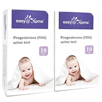 Easy@Home Progesterone (PDG Test) Urine Test Strips Kit -20 Tests, Newly Launched FDA Registered...