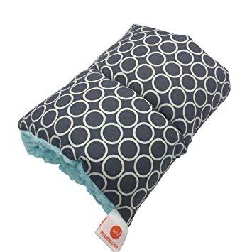 Pello Comfy Cradle - Slip-on Arm Pillow for Baby Nursing - Reversible, Adjustable, Washable, Durable, Majestic/Aqua